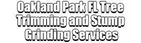 Oakland Park FL Tree Trimming and Stump Grinding Services Logo-We Offer Tree Trimming Services, Tree Removal, Tree Pruning, Tree Cutting, Residential and Commercial Tree Trimming Services, Storm Damage, Emergency Tree Removal, Land Clearing, Tree Companies, Tree Care Service, Stump Grinding, and we're the Best Tree Trimming Company Near You Guaranteed!